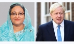 PM greets Johnson, seeks intervention to ensure justice for Rohingyas