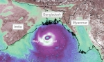 Amphan become as Serious Storm Surge, likely to hit Bangladesh on May 20