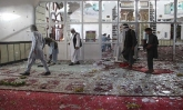 Blasts in a mosque of Afghanistan, killed at least 62