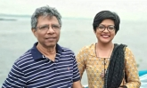 Bangladeshi father-daughter complete genome sequencing of corona